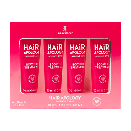 Lee Stafford Hair Apology Booster Treatment Masks 4 x 20ml