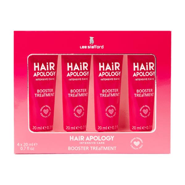 Hair Apology Booster Treatment Masks 4 x 20ml
