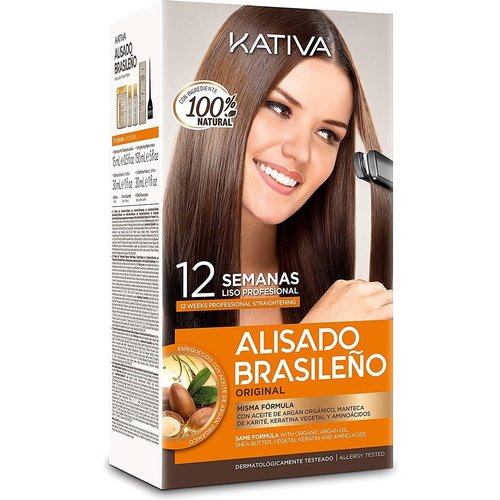 Kativa Braziliaanse Smoothing Straight System Kit