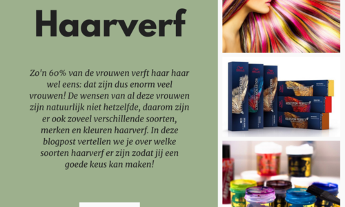 Alles over haarverf!