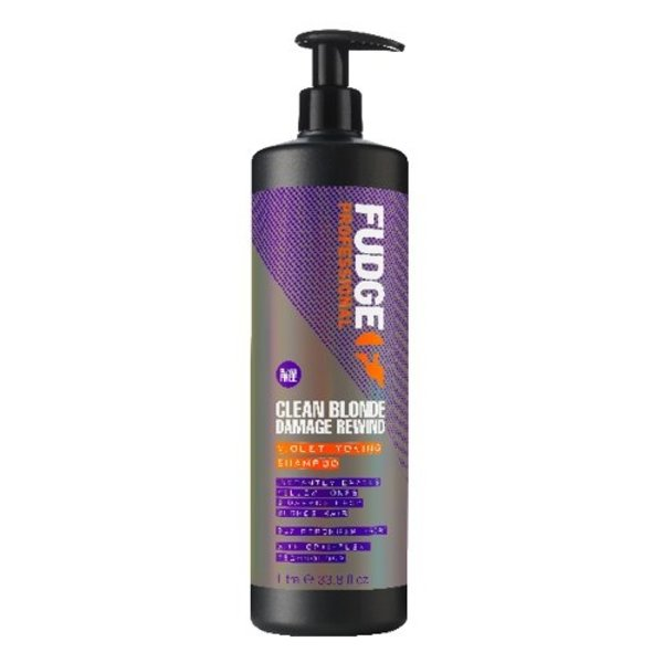 Clean Blonde Damage Rewind Violet-Toning Shampoo 1L