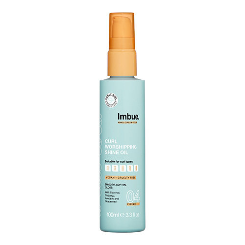 Imbue Curl Worshipping Shine Oil 100ml