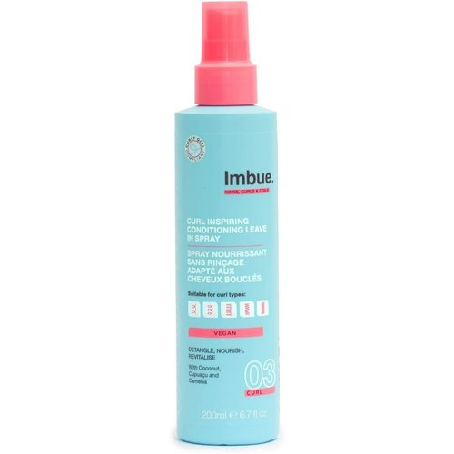 Imbue Curl Inspiring Conditioning Leave In Spray 200ml