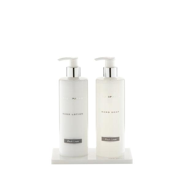Acrylic Tray Duo White