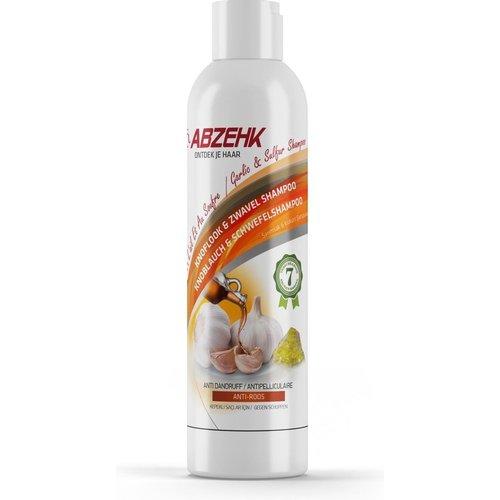 Abzehk Knoflook & Zwavel Shampoo 400ml