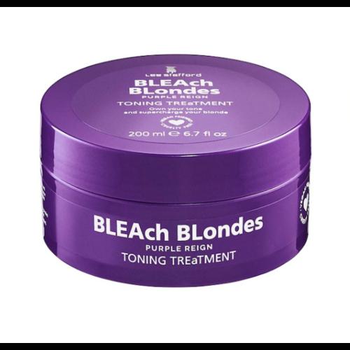 Lee Stafford Bleach Blondes Purple Reign Toning Treatment Mask 200ml