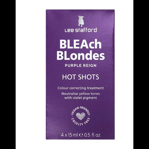 Bleach Blondes Purple Reign Blonde Hot Shot Sachets 4 x 15ml