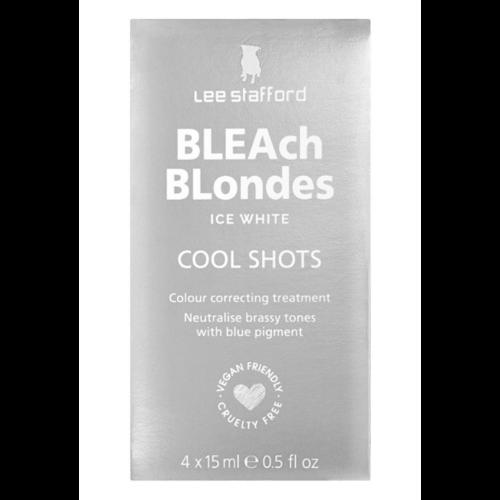 Lee Stafford Bleach Blondes Ice White Coole Shots 4 x 15ml