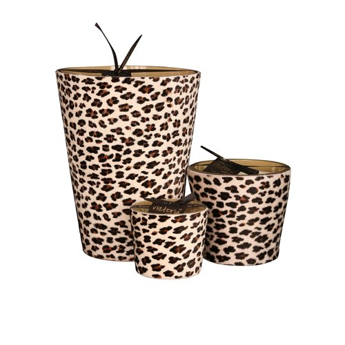 Victoria with Love Leopard Toi & Moi Geurkaars