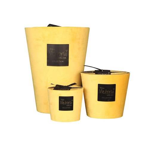 Victoria with Love Velvet Yellow Toi & Moi Scented Candle