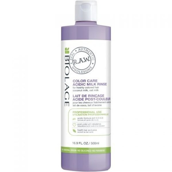 Biolage R.A.W. Color Care Colorseal Acidic Milk Rinse 500ml