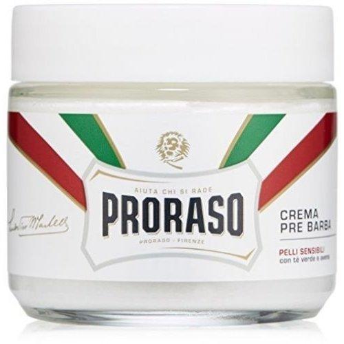 Proraso Wit Scheercrème bowl Green Tea 150ml