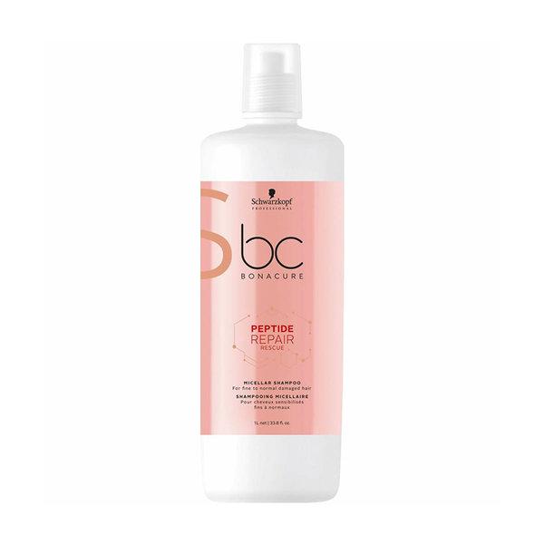 BC Bonacure Peptide Repair Rescue Micellar Shampoo 1000ml