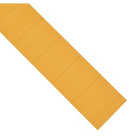 magnetoplan Einsteckkarten für Steckplaner, Farbe orange, Größe 50 mm