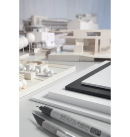 transotype Foam Boards weiß, 3 mm, Gr. 70 x 100 cm (25 Stk.), 3 mm