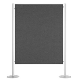 magnetoplan Präsentationswände, stationär, Größe 1345 x 1800 mm