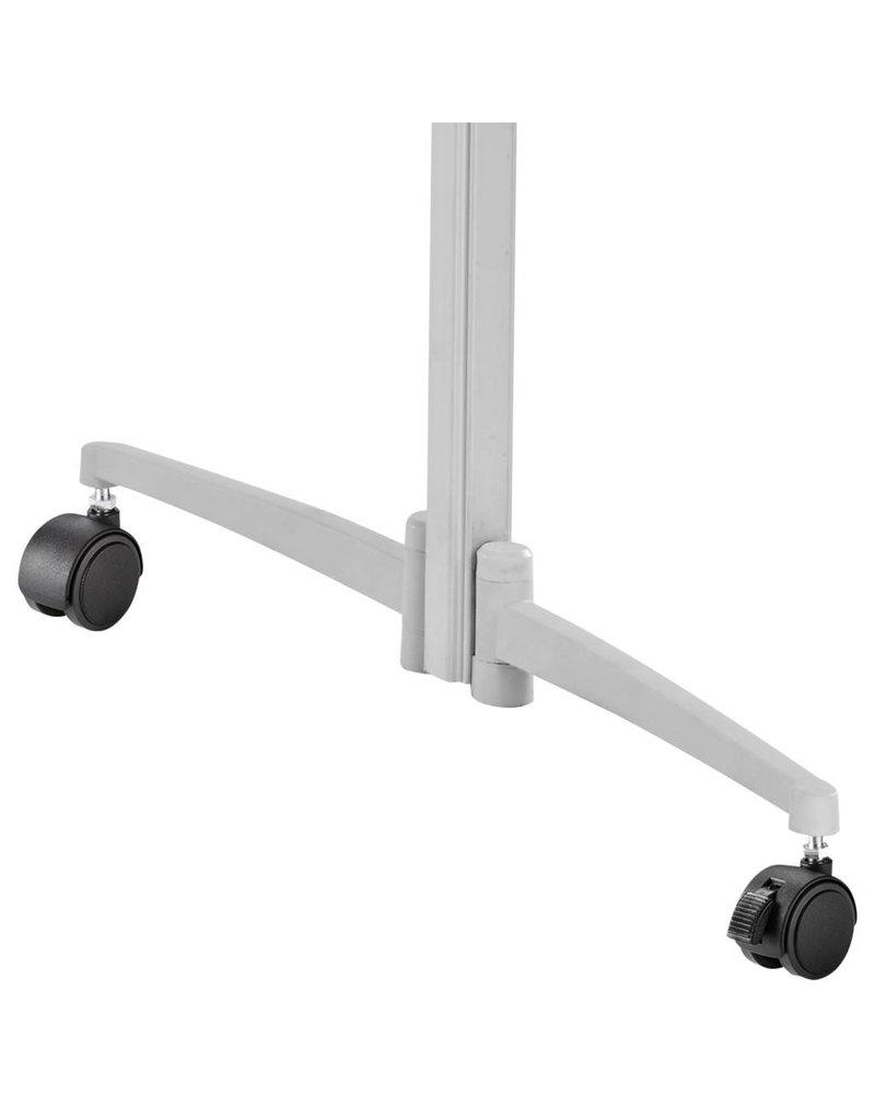magnetoplan Moderationstafel, klappbar, Oberfläche Kork