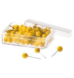 magnetoplan Pinnnadeln, Farbe gelb
