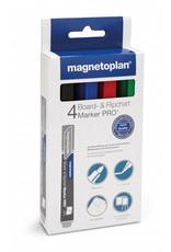 magnetoplan Board- und Flipchartmarker PRO, Farbe sortiert