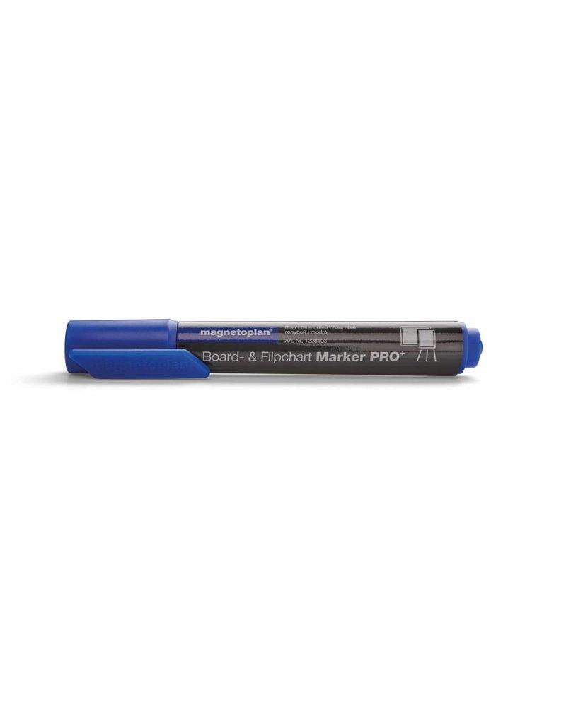 magnetoplan Board- und Flipchartmarker PRO, Farbe blau