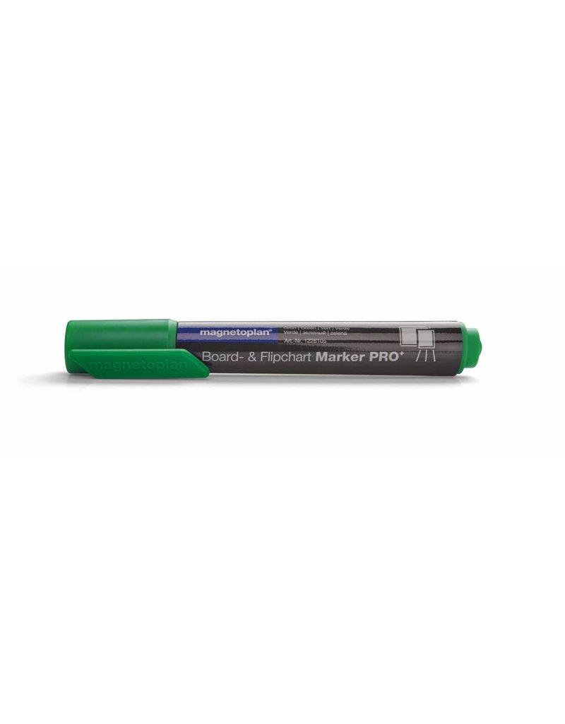 magnetoplan Board- und Flipchartmarker PRO, Farbe grün