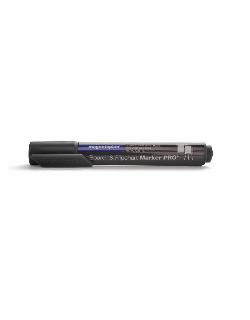 magnetoplan Board- und Flipchartmarker PRO, Farbe schwarz