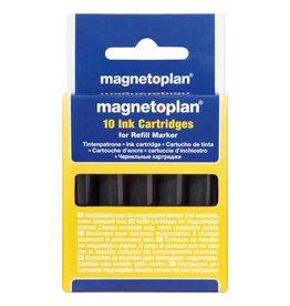 magnetoplan Nachfüllpatrone für Refill Marker, Farbe schwarz