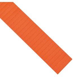 magnetoplan ferrocard-Etiketten, orange, Gr. 80 x 15 mm (115 St.)