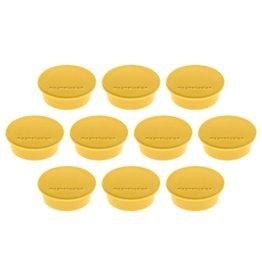 magnetoplan Magnet Discofix Color, Farbe gelb