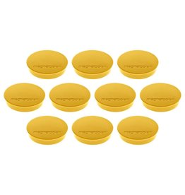 magnetoplan Magnet Discofix Standard, Farbe gelb