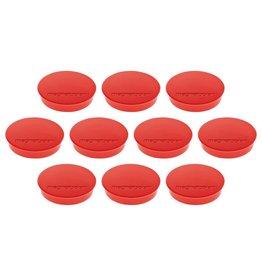 magnetoplan Magnet Discofix Standard, Farbe rot