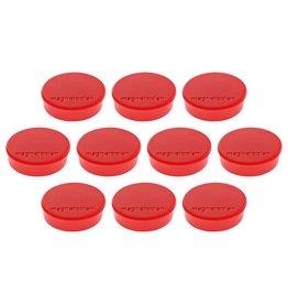 magnetoplan Magnet Discofix Hobby, Farbe rot