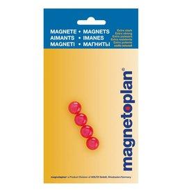 magnetoplan Magnetkugeln, Farbe pink