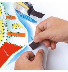 magnetoplan Magnetband im Spender, selbstklebend