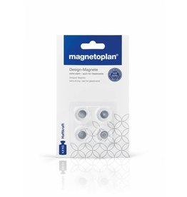 magnetoplan Design-Magnete auch für Glasboards