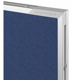 magnetoplan Design-Pinnboard Eco, weiß-braun, Gr. 120 x 90 cm (BxH)