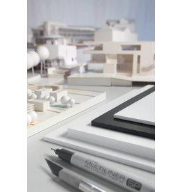 transotype FoamBoards weiß, 10 mm, Größe 50 x 70 cm, Ausführung 10 mm