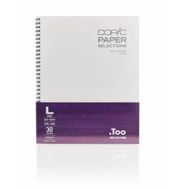 COPIC sketchbook, Größen S + L, Größe L