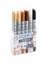 COPIC ciao 12er Marker-Set Hautfarben