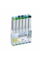 COPIC 12er Marker-Set Umweltfarben