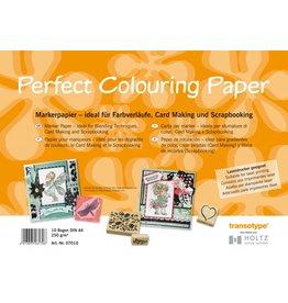 COPIC Perfect Colouring Paper, A4, 10 Blatt, 250 g/m²