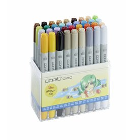 COPIC ciao 36er Manga-Marker-Set