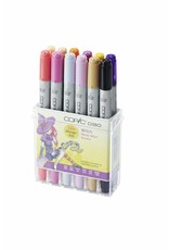 COPIC ciao 12er Manga-Marker-Set Witch