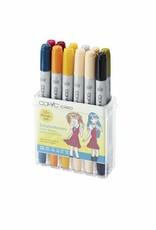 COPIC ciao 12er Manga-Marker-Set Schuluniformen