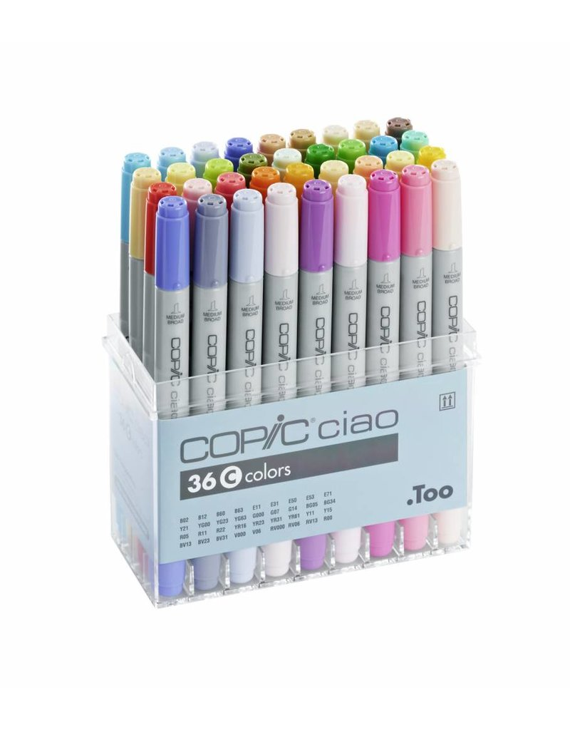 COPIC ciao 36er Marker-Set C