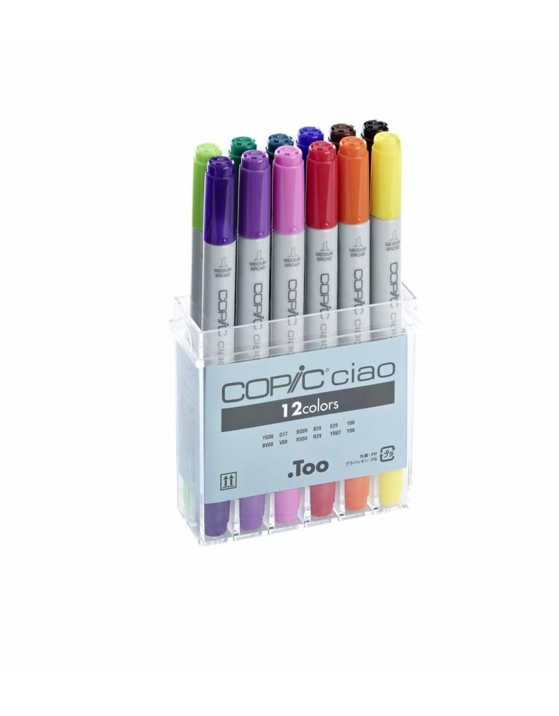 COPIC ciao 12er Marker-Set