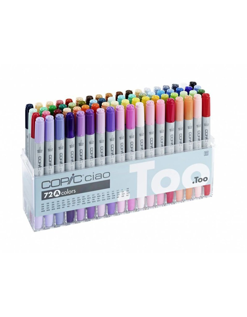COPIC ciao 72er Marker-Set A
