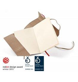 senseBook REFILL für FLAP, Größe Small, Ausführung kariert