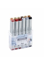 COPIC 12er Set Architekturfarben