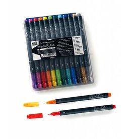 COPIC Glitter Pen Marker-Set A, Leuchtende Farben